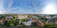 Spherical panorama of the area of the National Research Tomsk Polytechnic University