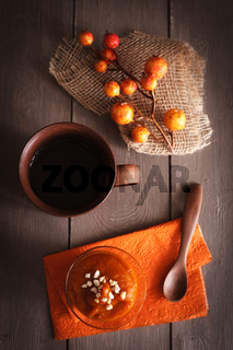 Herbstliches Dessert