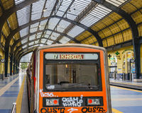 Train Station, Piraeus City, Greece