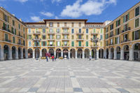 Zentraler Platz Plaza Major in Palma de Mallorca