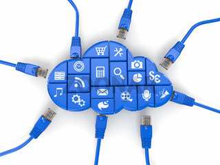 Сloud computing concept