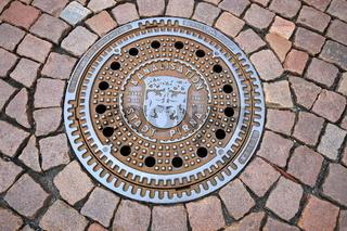Kanaldeckel von Pirna