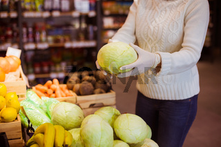 Fresh vegetables in winter are a source of vitamins