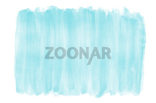 light blue watercolor background with brushstroke texture and rough edges