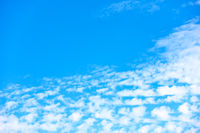 Sky background with large copy space