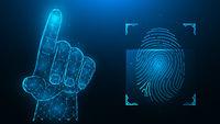 Fingerprint blue.eps