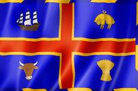 Adelaide city flag, Australia