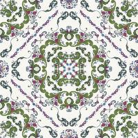 Rosemaling vector pattern 23