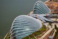 SINGAPORE, ASIA - FEBRUARY 3 : New Botanical Gardens under Construction in Singapore on February 3, 2012