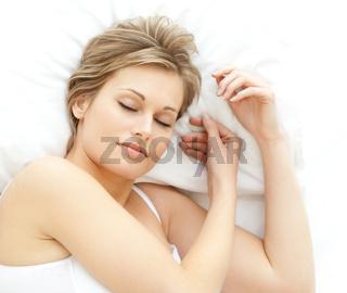 Nice woman relaxing