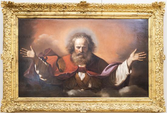 God the Father - Giovan Francesco Barbieri, 1646