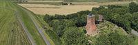 Panorama Luftaufnahme des Ochsenturms in Imsum