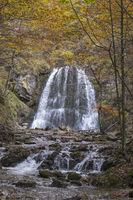 Herbststimmung am Josefstaler Wasserfall