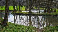 Im Tal der Großen Lauter, Biosphärengebiet Schwäbische Alb, Deutschland
