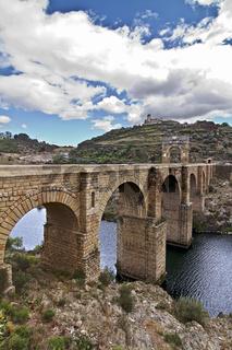 Die römische Brücke von Alcantara