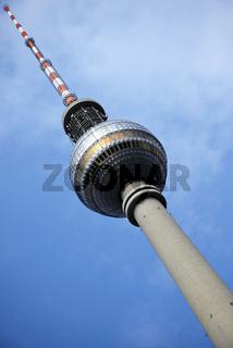 Berliner Fernsehturm am Alexanderplatz, Berlin