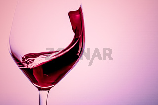 Premium red wine in crystal glass, alcohol drink and luxury aperitif, oenology and viticulture product