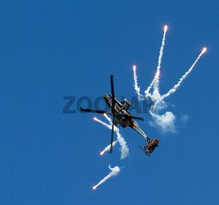 Apache AH-64D Solo Display Team