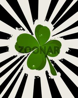 Abstract St. Patricks Day