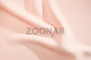 Soft rose silk or satin pattern