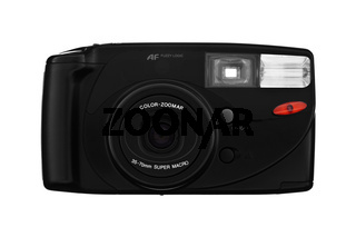 Klassische Kamera isoliert auf weiß