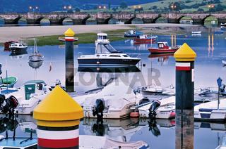 Kantabrien: Hafen von San Vicente de la Barquera