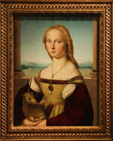 Rome, Galleria Borghese. Young Woman with Unicorn by by Raphael