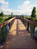 Observation deck in Florida park