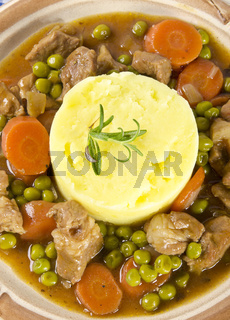 calf's fricassee