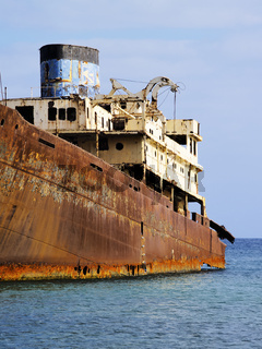 Shipwreck on Lanzarote
