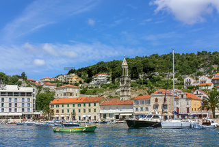 View of Hvar town, Croatia