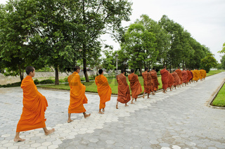 buddhist monks in battambang cambodia