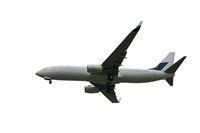 Flugzeug isoliert