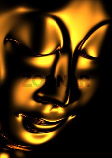 Buddha Andacht