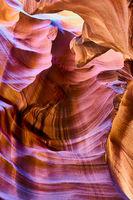 Antelope Canyon. Page. Arizona. USA