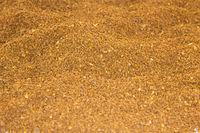 Coffee powder desert