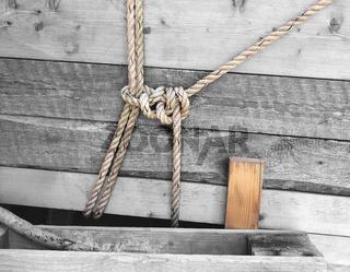 Seile um Lattenholz
