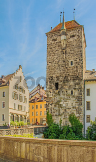 Schwarzer Turm  Brugg, Kanton Aargau, Schweiz
