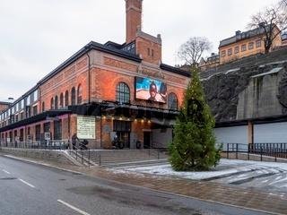 Fotografiska Museum für Fotografie mit Weihnachtsbaum - Stockholm