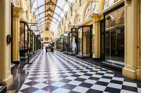 Melbourne in Lockdown During Coronavirus Pandemic