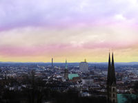 heaven colors city