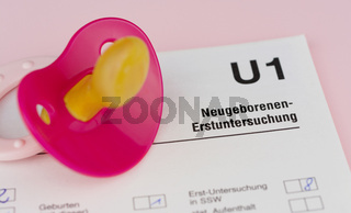 U1 Neugeborenen-Erstuntersuchung
