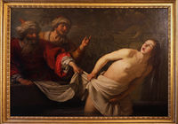 Rome, Galleria Borghese. Susanna and the elders by Gerrit van Honthorst
