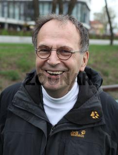 deutscher Mathematiker,Politiker,Autor Dr.Reinhard Höppner(SPD) Pilgerschiff zum 34.Kirchentag 2013