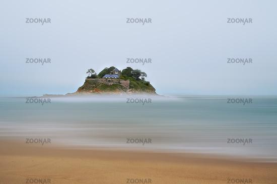 Blick zum Fort du Guesclin, Bretagne, France
