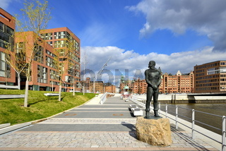 Störtebekerdenkmal in der Hafencity Hamburg