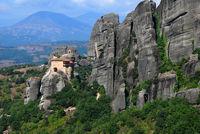Meteora landmark of Greece