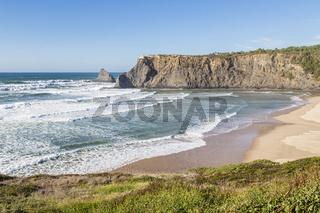 Strand nahe bei Odeceixe, Algarve, Portugal, beach near of Odeceixe, Algarve, Portugal