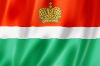 Kaluga state - Oblast -  flag, Russia