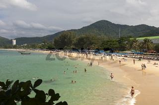 Karon Beach auf der Insel Phuket, Thailand